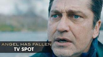 "Angel Has Fallen (2019 Movie) Official TV Spot ""Patriot"" — Gerald Butler, Morgan Freeman"