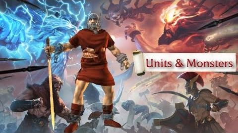Olympus Rising - Units & Monsters (author Máni)