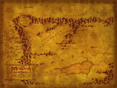 Carte-du-Mordor