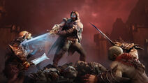 Talion and orcs