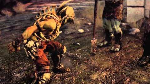 MULTI La Terre du Milieu L'Ombre du Mordor - Trailer L'Orque Ratbag