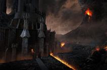 Les portes de Barad-dûr