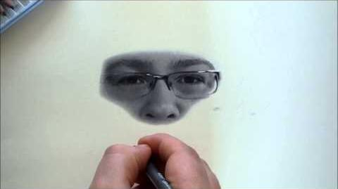 Drawing Jesse Cox (Fan Speed Art)