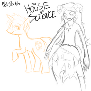 Plot house of science