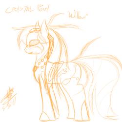 Crystal pony willow
