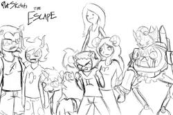 Plot the escape