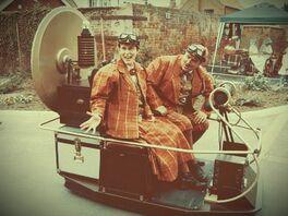 Time machine vehicle