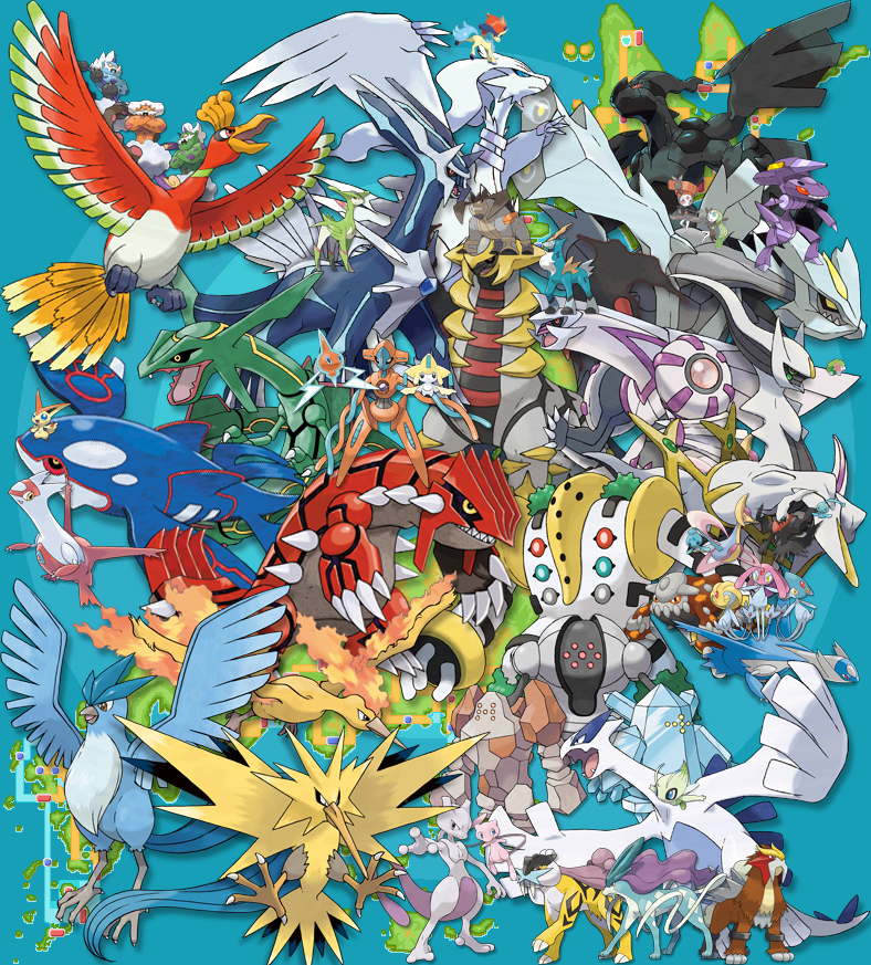 Image every legendary pokemon ever by aziangren d52w3zcg every legendary pokemon ever by aziangren d52w3zcg thecheapjerseys Image collections