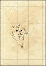 Tyrian Reach Isles Map (WIP)