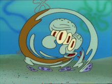 You cannot grasp the true form of squidward