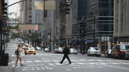 2x01 New York chaussée passage piéton Neal Cassidy