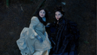 3x12 Blanche-Neige Reine Regina sol attaque singe volant