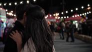 5x05 Henry Mills Violette baiser joue amour fête des mines remerciement