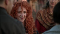 5x22 Merida sourire peuple Camelot David Nolan dos
