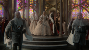 6x10 Princesse Emma Swan Reine Blanche-Neige Roi David Sir Prince Henry chapelle pavillon gardes épées