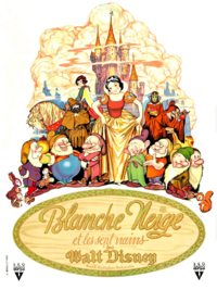 Blanche-Neige et les Sept Nains Snow White and the Seven Dwarfs Disney 1937 affiche poster