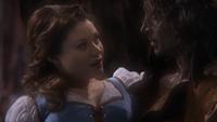 1x12 Belle Rumplestiltskin remerciement sauvetage sourire