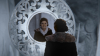4x06 Belle French affrontement reflet Miroir de Trolden moquerie Anna