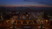 6x15 Agrabah cité ville capitale vue balcon palais