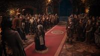 5x09 Sorcière de DunBroch interruption couronnement Merida contrat Roi Fergus casque