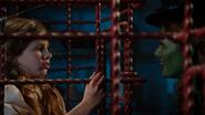 7x17 Zelena menace cage Jeune Gretel