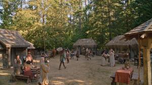 5x04 Camelot village