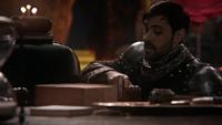 5x21 Roi Arthur trône Source des Enfers