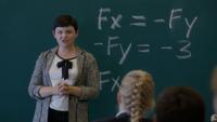 6x04 Mary Margaret Blanchard équation tableau classe
