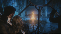 3x22 Killian Jones Crochet Emma Swan Blanche-Neige Reine Regina Palais sombre exécution bûcher