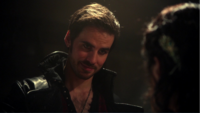 4x15 Killian Jones Capitaine Crochet rencontre Ursula bar chant remerciement bâteau