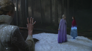 4x05 Reine des Neiges piège Elsa Anna statue de glace