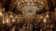6x02 France du 19ème XIXème siècle lustre voûte réception fête