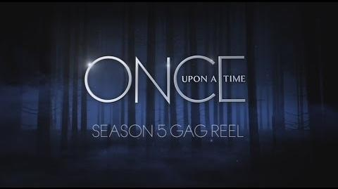 Once Upon a Time Season 5 Bloopers