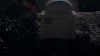 1x02 Méchante Reine Regina tombe pierre tombale Henry Sr père bien-aimé