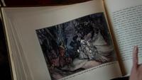 Blanche neige conte illustration livre 4x07