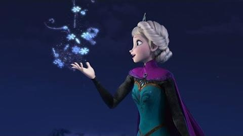 La Reine des Neiges - Chanson du film Let it go (VO) - Exclusif HD