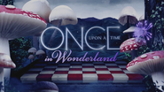 Once Upon a Time in Wonderland logo titlecard générique épisode W1x06