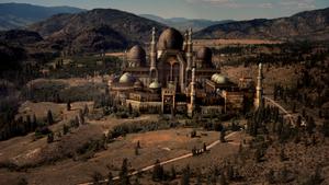 2x01 Palais de la Belle au Bois Dormant Aurore désert