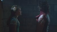 1x12 Belle Rumplestiltskin Bête blâme reproche choix décision peur lâcheté couardise amour bonheur
