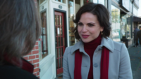 1x12 Regina Mills M. Gold discussion identité