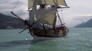 2x04 Jolly Roger mer vogue Capitaine Crochet Killian Jones