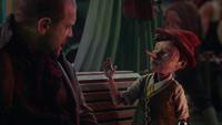 6x12 Robert rencontre Pinocchio marionnette pantin de bois île des plaisirs