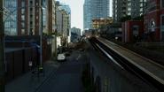 7x01 vue Seattle rue quartier Hyperion Heights tramway