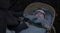 3x18 Cora Zelena bébé abandon panier nœud ruban vert
