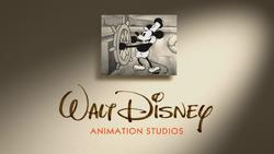 Mickey Mouse Steamboat Willie logo Walt Disney Animation Studios