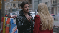 3x12 Killian Jones Capitaine Crochet Emma Swan New York potion mémoire