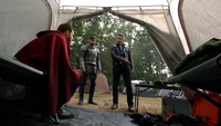 5x03 Griff David Nolan Roi Arthur interrogatoire campement Storybrooke
