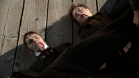 6x04 doubles personnalités Mr Hyde Dr Jekyll cadavres macchabées corps morts port de Storybrooke