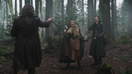 3x21 Rumplestiltskin Emma Swan Capitaine Crochet Killian Jones forêt étranglement