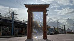5x22 portail porte magique ouverte